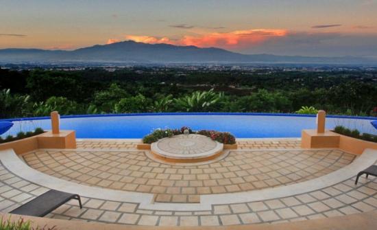 Xandari Resort view