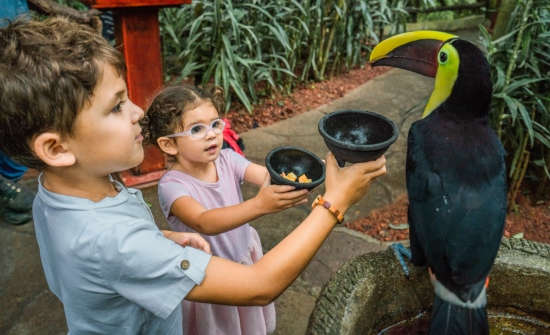 La Paz Waterfall Gardens animal exhibits
