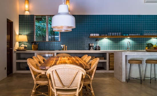 Harmony Villa 1 Kitchen and Dining Room