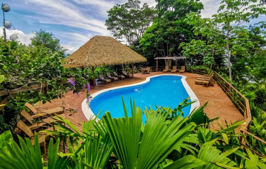 Lapa Rios Ecolodge pool