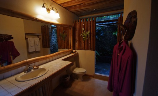 Lost Iguana Resort shower suite
