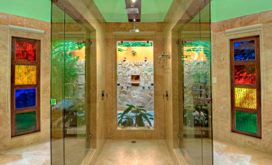 Nayara Gardens casita bathroom