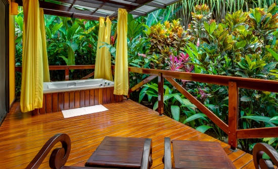 Nayara Gardens casita deluxe terrace