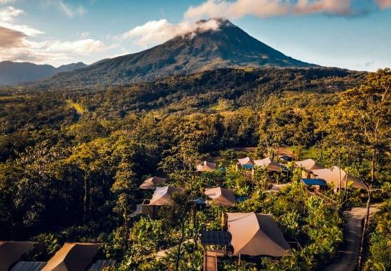 Nayara Tented Camp volcano