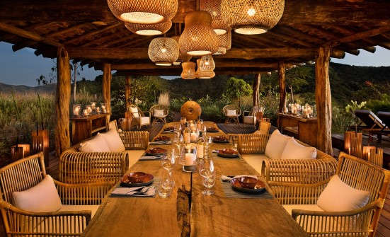 Kasiiya chef table by sunset