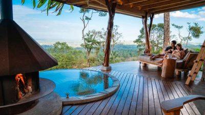 Origins Lodge couple all terrace w pool