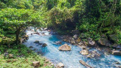Rio Celeste Waterfall, Tenorio Volcano National Park