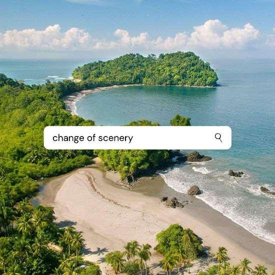 Change of Scenery Manuel Antonio
