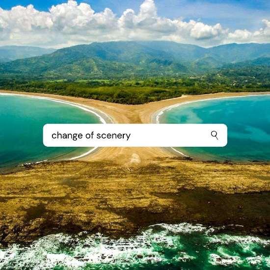 Change of Scenery Uvita Beach