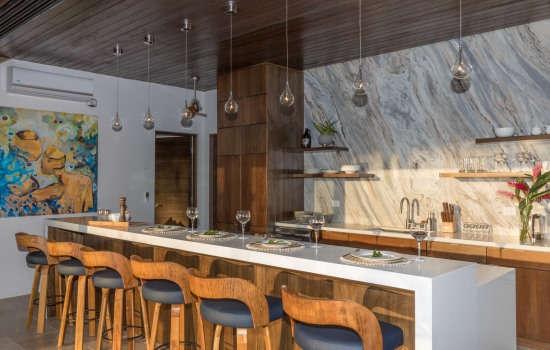 Casa Resol kitchen island
