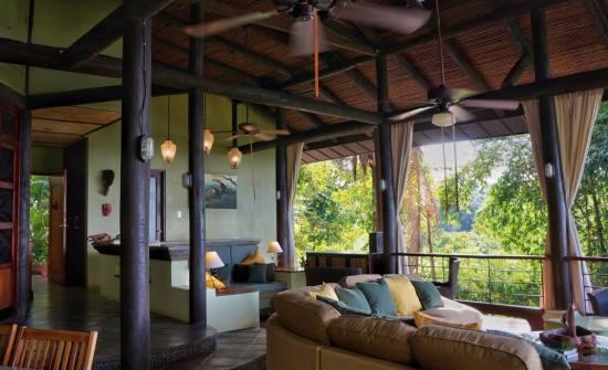 Vista Azul Living Room main level