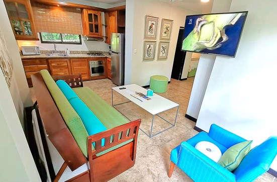 Tucan Apartments kitchen