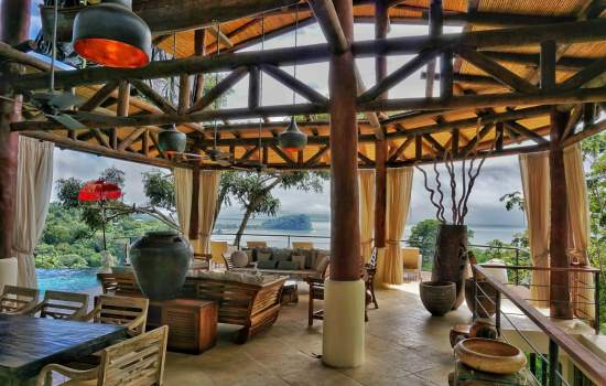 The Tree House Manuel Antonio Costa Rica Living Dining Area
