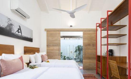 guilded Iguana surf room