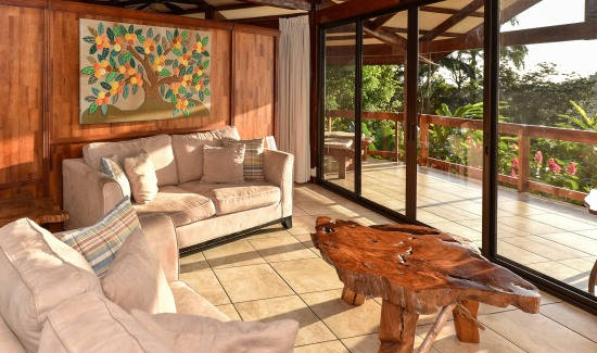 Casa de las Flores Villa living room