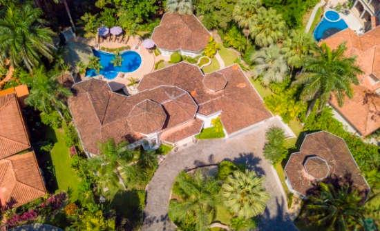 Harmon Estate aerial