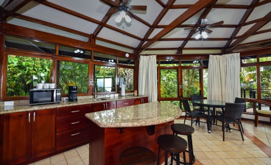 Maunaloa Villa Kitchen