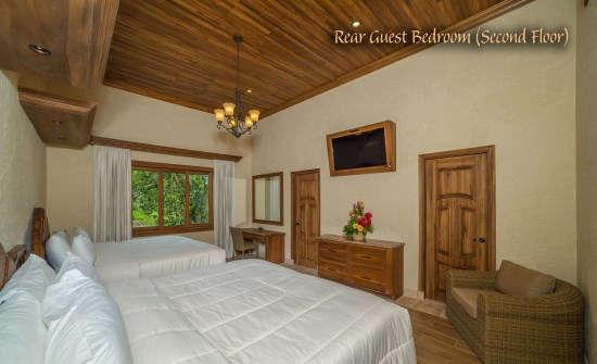 Villa Palacio Rear Guest Bedroom (Second Floor)