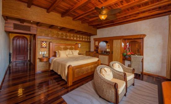 Falcons Nest master bedroom