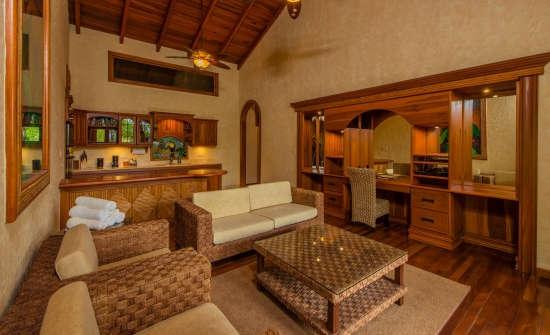 Villa Calatea living space
