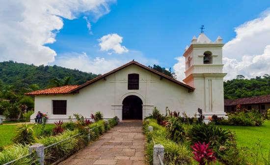 Colonial Church at Orosi Costa Rica